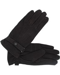 Barbour Leather Thinsulate Gloves - Black