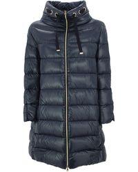 Herno Puffer Coat - Blue