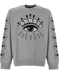 KENZO Eye Sweatshirt - Gray