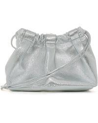 THEMOIRÈ Thetis Straw Bag - Gray