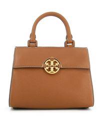Tory Burch Miller Top-handle Bag - Brown