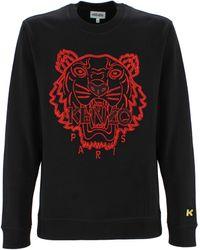 KENZO Tiger Logo Crewneck - Multicolor