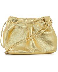 THEMOIRÈ Thetis Straw Bag - Yellow