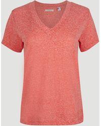 O'neill Sportswear - V-Shirt Essentials, mit V-Ausschnitt - Lyst