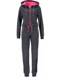 Bench Jumpsuit, mit kontrastfarbenen Details - Mehrfarbig
