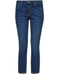 S.oliver Slim-fit-Jeans Betsy, in Basic 5-Pocket Form - Blau