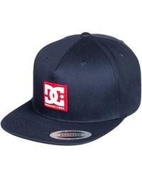 DC Shoes Snapback Cap Snapdripp - Schwarz
