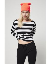 O'neill Sportswear Langarmshirt Essential striped - Schwarz