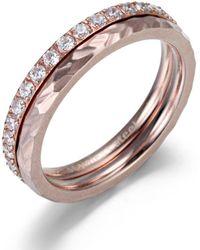 Firetti Ring-Set 4 - Mehrfarbig