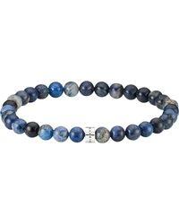 Baldessarini Armband »Y2169B/90/V3«, mit Dumortierit - Blau