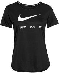 Nike Laufshirt - Schwarz