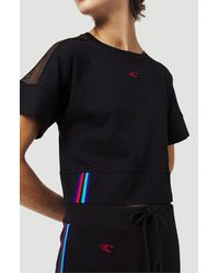 O'neill Sportswear T-shirt Loose cropped - Schwarz