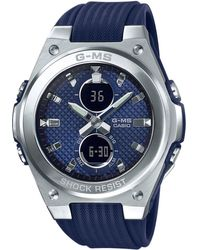 Casio Watch Chronograph MSG-C100-2AER - Blau
