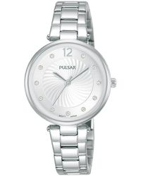 Pulsar Quarzuhr Damen Quarz, PH8489X1 - Mettallic