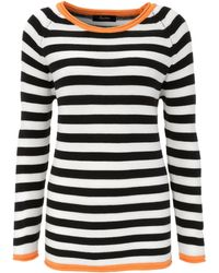 Aniston CASUAL - Rundhalspullover, im Streifendessin - Lyst