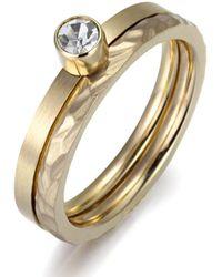 Firetti Ring-Set 4 - Mettallic