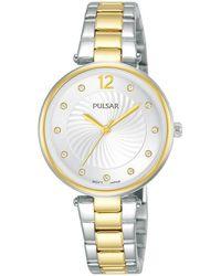 Pulsar Quarzuhr Damen Quarz, PH8492X1 - Mettallic
