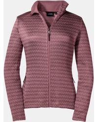 Schoffel Fleecejacke Fleece Jacket Belgrad L - Lila