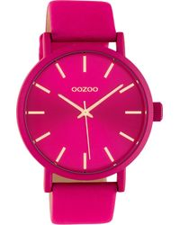 OOZOO Quarzuhr C10448 - Pink