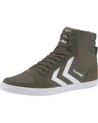 Hummel Sneaker SLIMMER STADIL HIGH - Grün