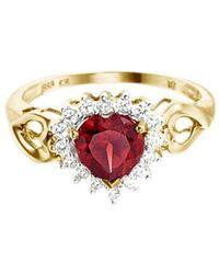 Firetti Fingerring Herz - Mehrfarbig