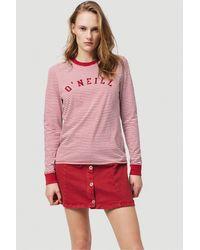O'neill Sportswear Langarmshirt - Rot
