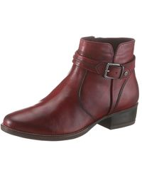 Tamaris Stiefelette Marly - Rot