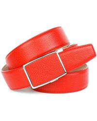 Anthoni Crown Ledergürtel - Rot