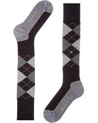 Burlington Kniestrümpfe Hackney (1 Paar) - Schwarz