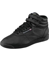 Reebok Sneaker Freestyle Hi - Schwarz
