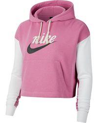 Nike Kapuzensweatshirt - Pink