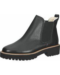Paul Green Ankleboots Glattleder - Schwarz