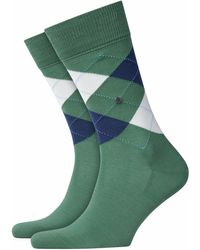 Burlington Socken Manchester (1 Paar) - Grün