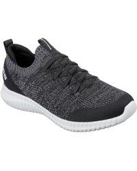 Skechers Slip-On Sneaker Elite Flex, mit komfortabler Air-Cooled Memory Foam - Schwarz