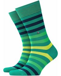 Burlington Socken Blackpool (1 Paar) - Grün