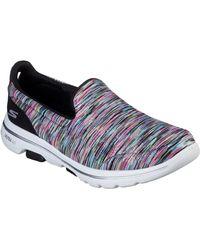 Skechers Slip-On Sneaker Go Walk 5 - Fantastic - Blau
