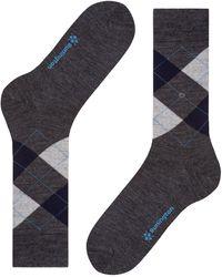 Burlington Socken Edinburgh (1 Paar) - Grau
