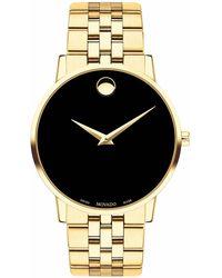 Movado Schweizer Uhr MUSEUM 607203 - Schwarz