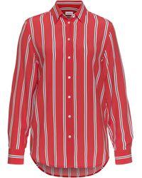 Seidensticker - Hemdbluse, mit Kontrast-Streifen - Lyst