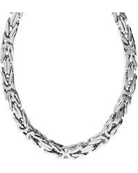 Firetti Königskette Königskettengliederung 4-kant, 8,0 mm breit - Mehrfarbig