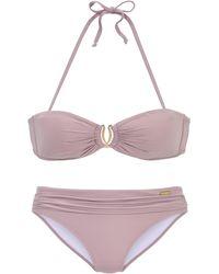 Lascana Bandeau-Bikini - Natur