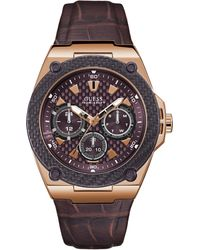 Guess Multifunktionsuhr LEGACY W1058G2 - Braun