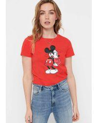 ONLY - Print-Shirt - Lyst