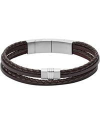 Fossil Armband VINTAGE CASUAL JF02934040 - Braun