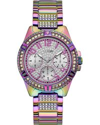 Guess Multifunktionsuhr LADY FRONTIER - Lila