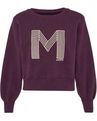 Mexx Sweater, mit weiten Ärmel - Lila