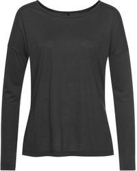 Nike Yogashirt Long-Sleeve Yoga Training Top - Schwarz