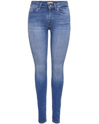 ONLY Skinny-fit-Jeans ONLBLUSH LIFE - Blau