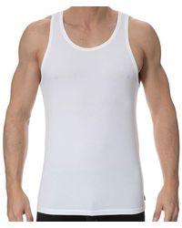 Calvin Klein 2-pack Modern Cotton Stretch Tank Tops - White
