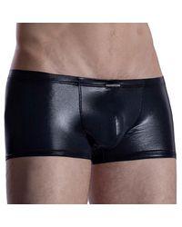 MANSTORE M2004 Micro Trousers Trunks - Black